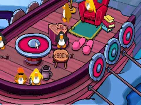 Club Penguin - Mountain Expedition secret room.wmv