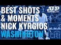 Nick Kyrgios Best Shots Entertaining Moments In Title Run Washington 2019