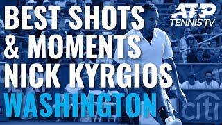 Nick Kyrgios Best Shots & Entertaining Moments in Title Run | Washington 2019