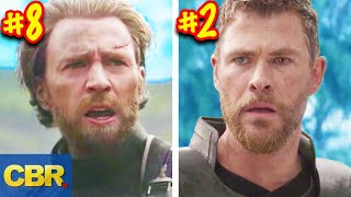 Every Hero Confirmed For Marvel Avengers Endgame Ranked By Power