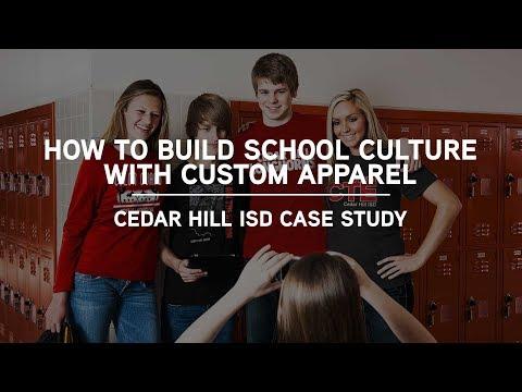 How to build a positive school culture with custom apparel - Cedar Hill ISD Case Study
