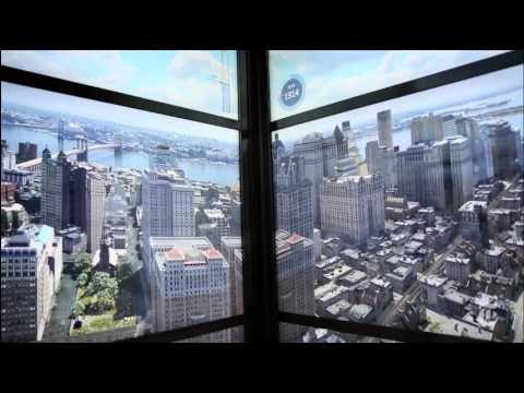 New York City age 500 years time lapse video