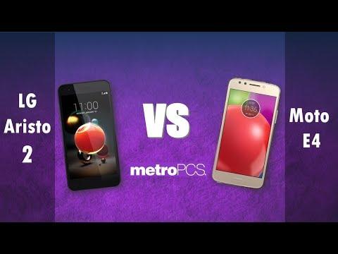 LG Aristo 2   VS Moto E4 -  metro PCS