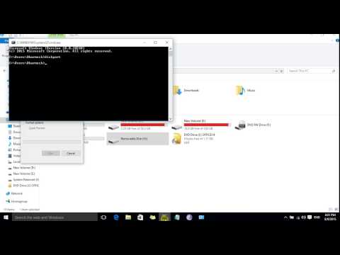 Make Windows 10 Pen Drive Bootable Using Diskpart
