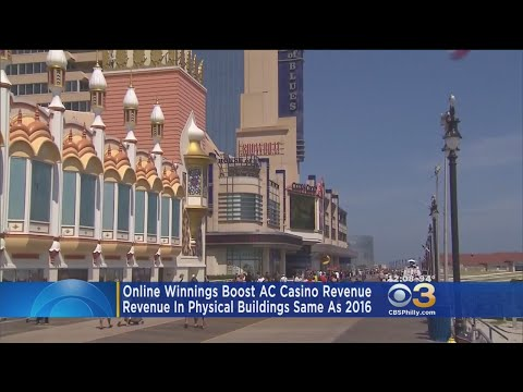 Online Winnings Boost Atlantic City Casino Revenue