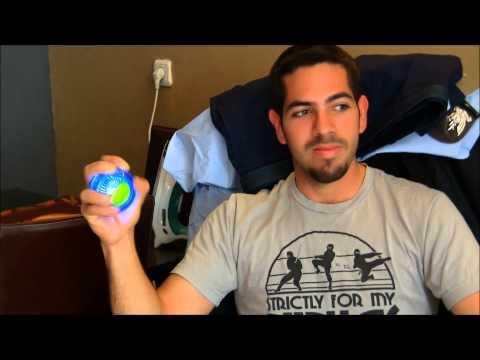 Powerball Gyro Toy - Hand Strength Exerciser