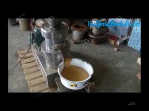 Peanut Butter Grinding Machine|Industrial Peanut Butter Maker Machine GG-110