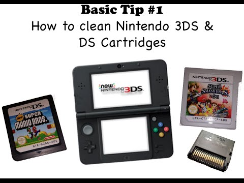 Video Game Collecting Basic Tip #1: Cleaning 3DS and DS Cartridges