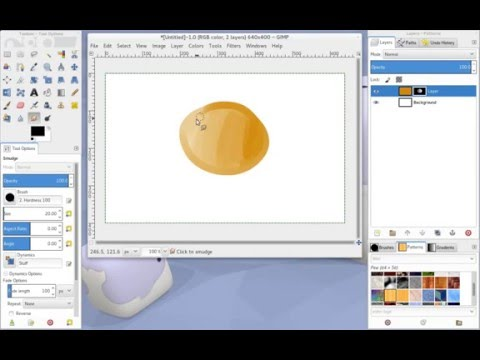 How To Use Pen Pressure To Control Absolute Opacity In Gimp