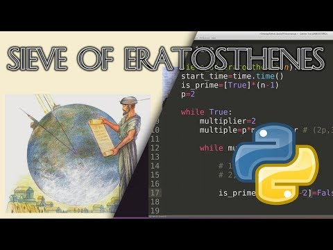 Sieve of Eratosthenes: Background & Python Code