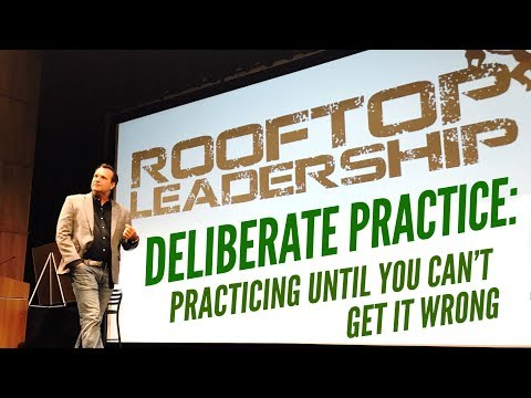 Deliberate Practice - The Secret Sauce to Fulfilling Your Goals with Scott Mann