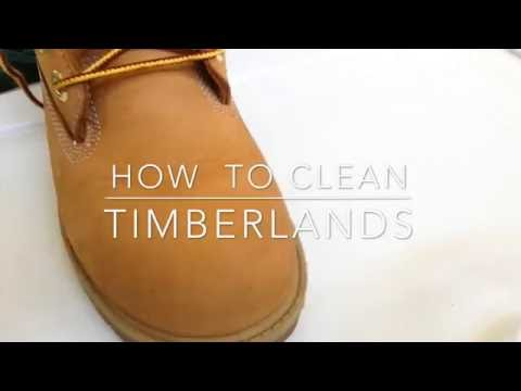 How To Clean Your Timberlands