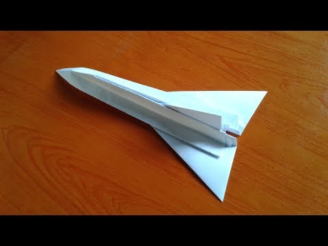 How to Make a Easy Paper Plane For Kids - Origami Paper Airplanes - Paper Craft