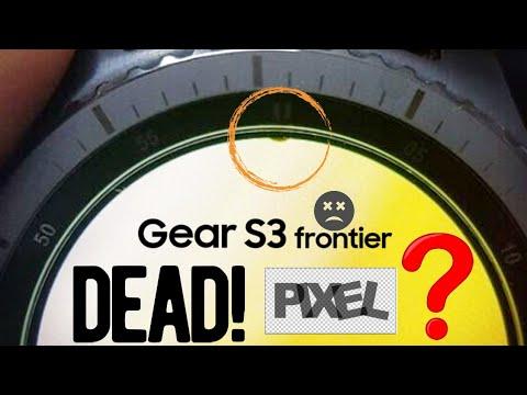 How to Fix Gear S3 Frontier Burn in | Stuck Pixel | Dead pixel