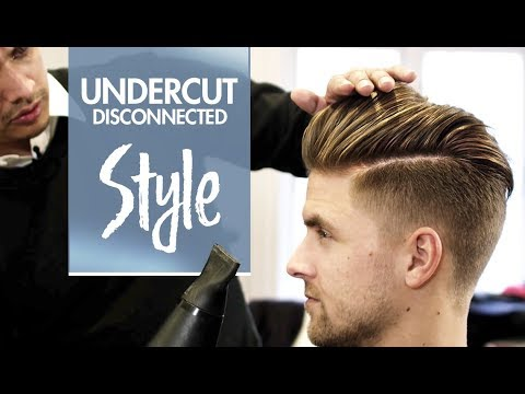 Disconnected Undercut - Men's hair & styling Inspiration - 4k hairstyle