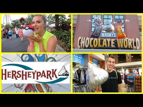 Hersheypark Vlog!