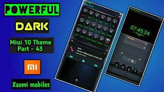 2 5 MB] Download Powerful Dark | Miui 10 Theme Part - 43