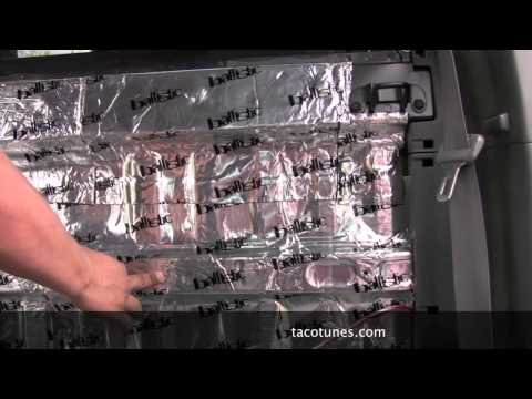How to install ported subwoofer box in your Toyota Tacoma Double Cab