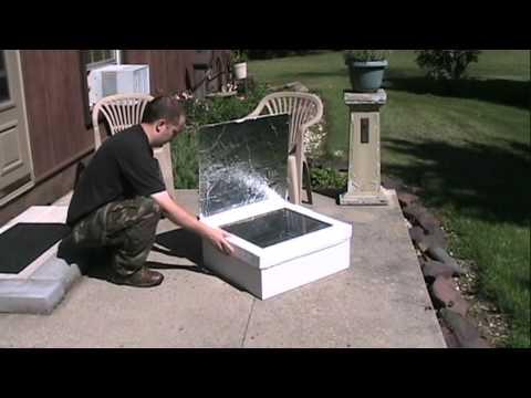 Baking Cinnamon Rolls in a Solar Oven