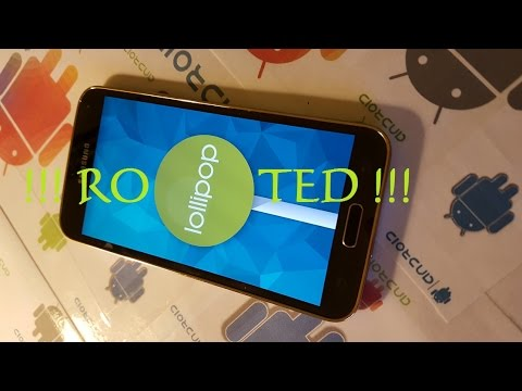 How to root samsung galaxy s5 all models running lollipop twrp method