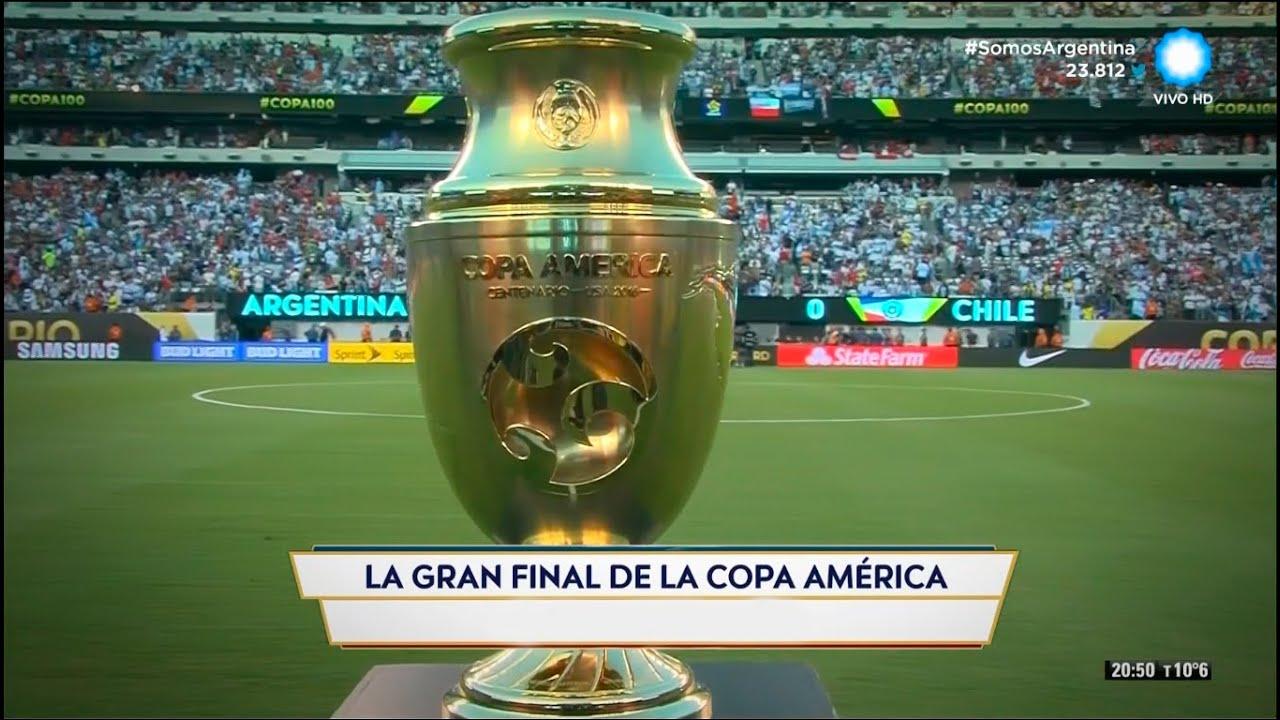 Argentina vs Chile - FINAL Copa Centenario 2016 - Partido completo