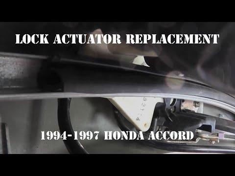1994-1997 Honda Accord Door Lock Actuator Replacement