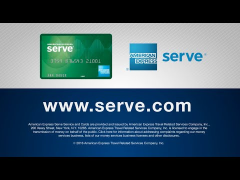 American Express Serve® Free Reloads Overview