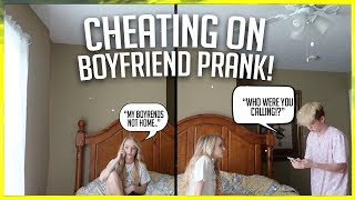 """CHEATING ON MY BOYFRIEND PRANK! """"HE GOT SO MAD"""" FT. ZOE LAVERNE AND CODY ORLOVE!"""
