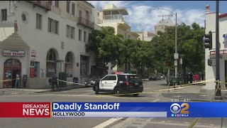 Assault Suspect Dead Following Barricade Situation At Hollywood Motel
