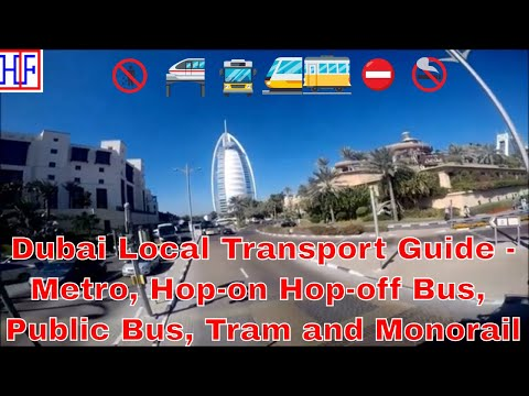 Dubai | Local Transportation Guide for Visitors - Getting Around | Travel Guide | Episode# 2