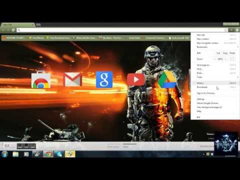 how to change or remove your google chrome theme