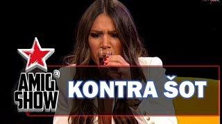 Kontra šot - Sandra Afrika i Sloba Radanović (Ami G Show S12)