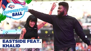 Halsey feat. Khalid – 'Eastside' | Live at Capital's Summertime Ball 2019