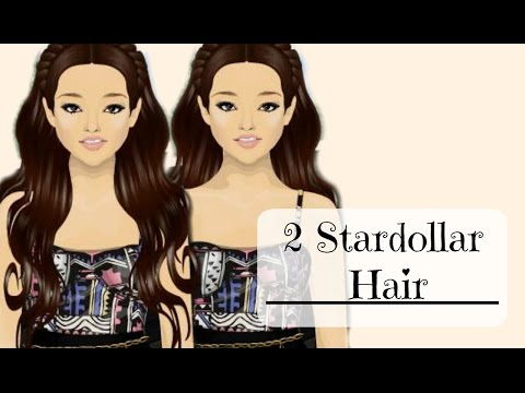 Stardoll stardesign tutorial - 2 stardollars hair design