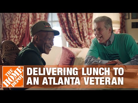The Home Depot CEO Delivers Lunch to an Atlanta Veteran