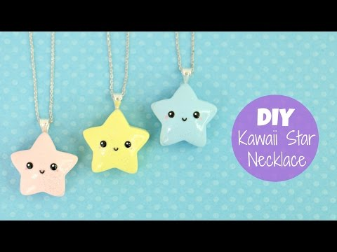 DIY Kawaii Star Necklace Charm
