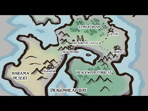 Fantasy Map Drawing   Tectonic Plates Method