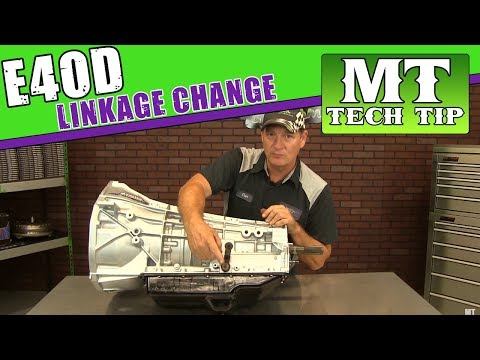 E4OD or 4R100 Linkage Change Curt's Corner | Monster Transmission