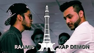Rap Demon vs Raamis - They-See Battle League (Desi Rap Battle)