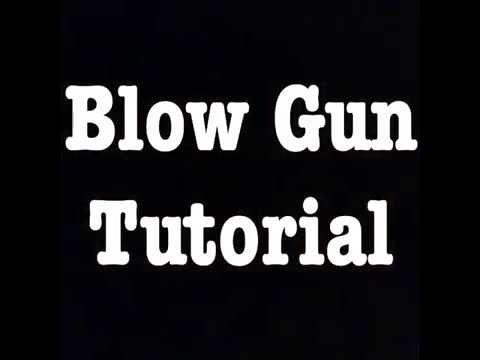 How to build blowgun