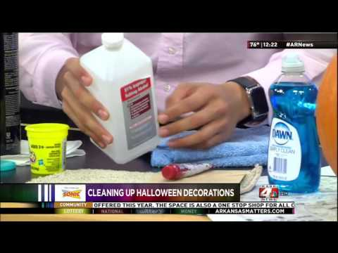 Molly Maid - Cleaning Up Halloween Decorations
