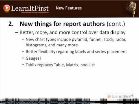 New Features in SQL Server 2008/R2 Reporting Services (Part 2)