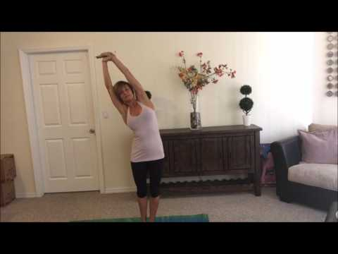 The half moon: Yoga's perfect strengthening stretch