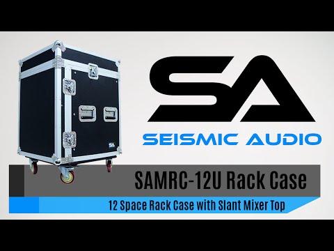 Seismic Audio SAMRC-12U 12 Space Rack Case (Official)