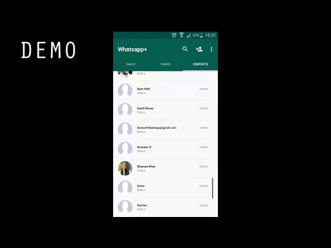 Creating Whatsapp [Displaying Contacts In A RecyclerView] | Part 1