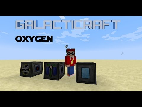 Minecraft - Mod Tutorial Galacticraft - Oxygen Production
