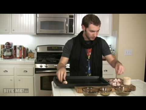 BITE ME! the MAN Cooking Show - Bacon-Wrapped Dates Stuffed with Parmesan