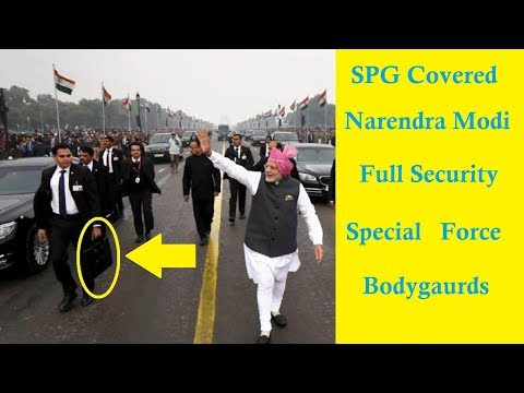 SPG Covered PM Narendra Modi's Full Security ( 2018 )