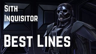 Sith Inquisitor: Best Lines And Funny Moments | Star Wars: The Old Republic