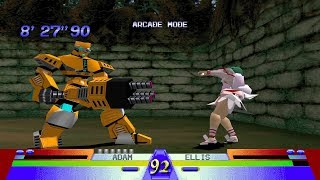 Battle Arena Toshinden 3 Ps1 Play As Veil
